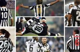 Colori numeri Juventus
