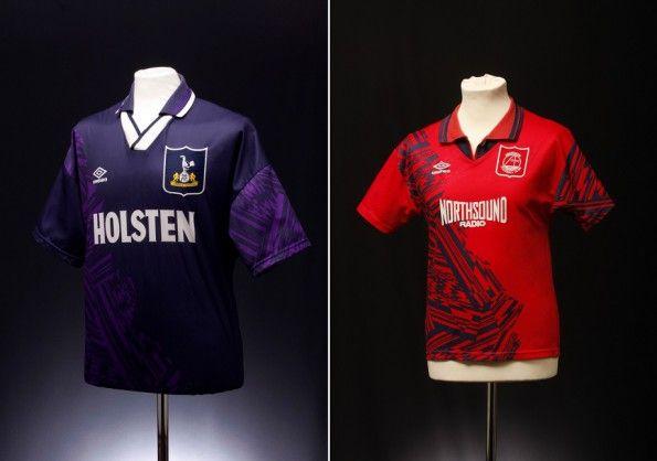 Maglie Tottenham e Aberdeen 1994-1995