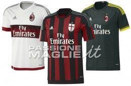 Maglie AC Milan 2015-2016 adidas