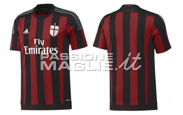 Anteprima maglia Milan 2015-2016