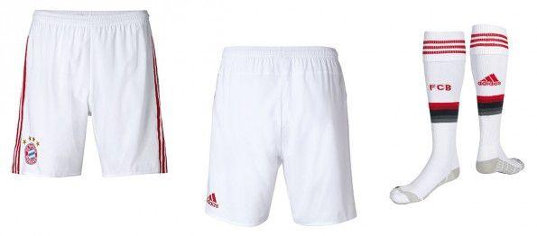 Pantaloncini calzettoni Bayern away 2015-16