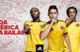 Presentazione maglie Colombia 2015-2016