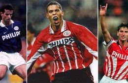PSV maglie Nike 1995-1997
