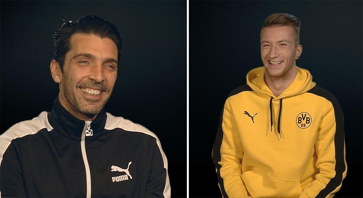 Intervista Buffon contro Reus