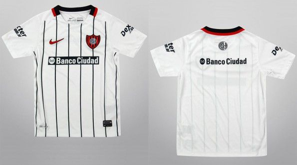 Seconda maglia San Lorenzo 2015 Nike