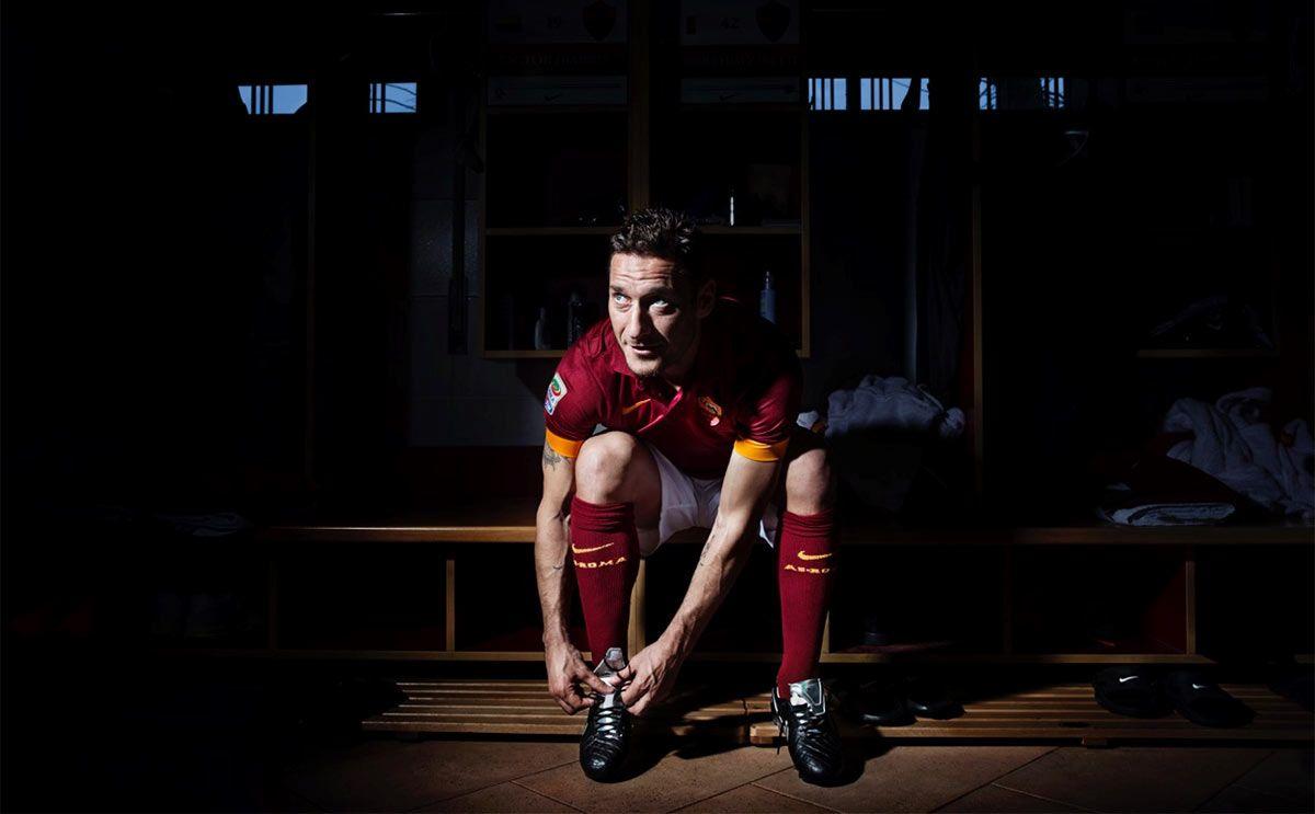 Le scarpe Tiempo di Francesco Totti in edizione limitata
