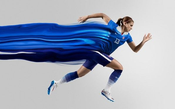 Alex Morgan USA away kit 2015