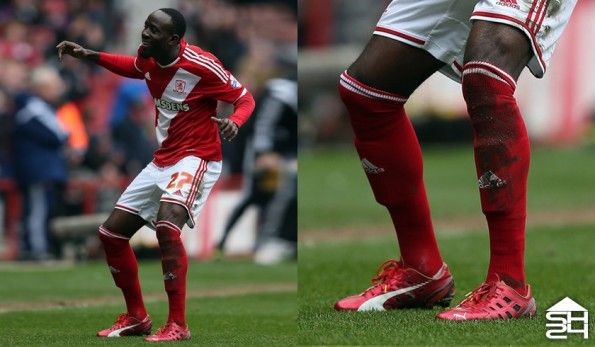 Albert Adomah (Middlesbrough) - Puma evoSpeed Ferrari F947