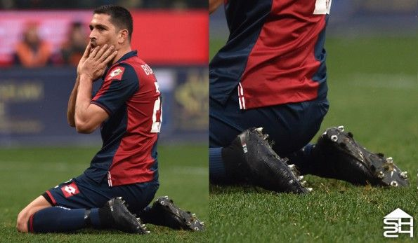 Marco Borriello (Genoa) - Nike Mercurial Superfly IV ID