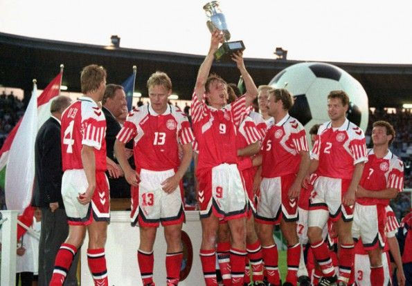 Danimarca campione Europa 1992