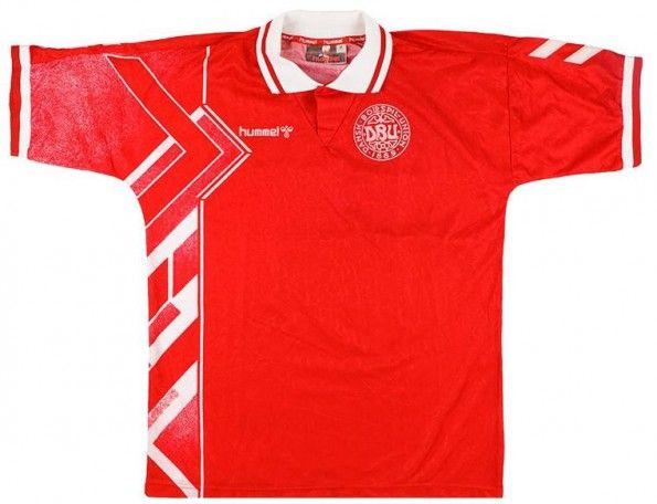 Maglia Danimarca 1995 Hummel