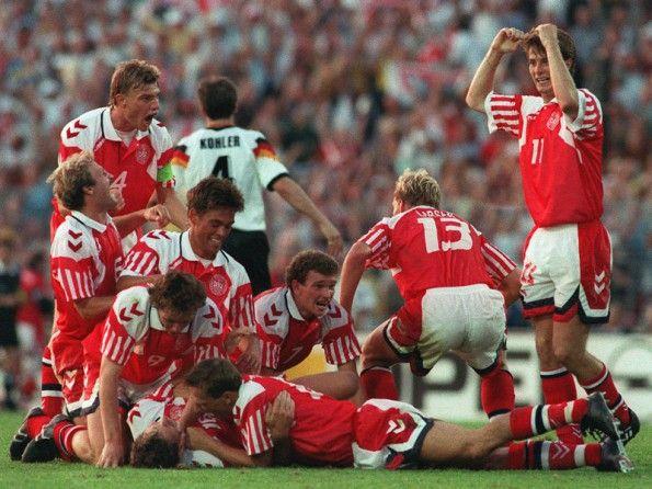 La Danimarca agli Europei del 1992
