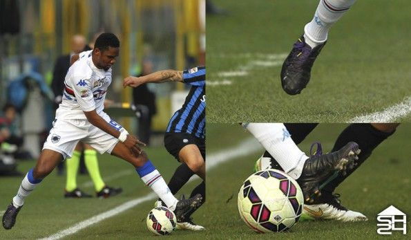 Samuel Eto'o (Sampdoria) - Puma evoSpeed 1.3 Custom