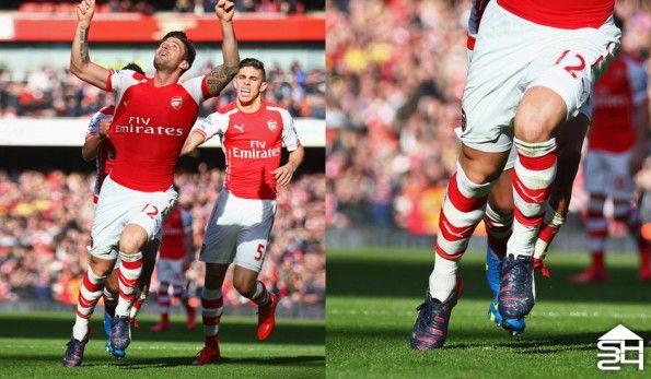 Olivier Giroud (Arsenal) - Puma evoPower 1.2