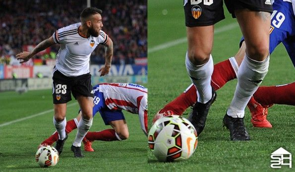 Otamendi (Valencia) Nike Mercurial Superfly IV Blackout Custom