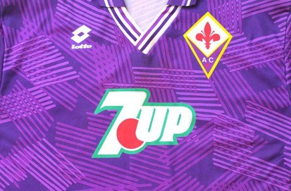Sfondo maglia Fiorentina Lotto 1992-1993