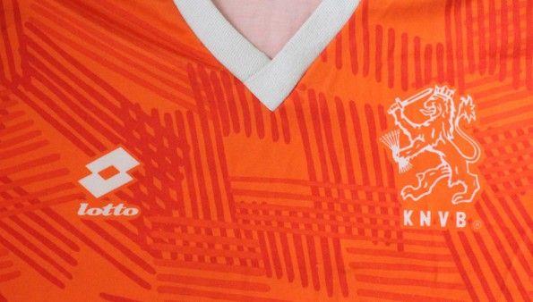 Sfondo maglia Olanda Lotto 1991-1992