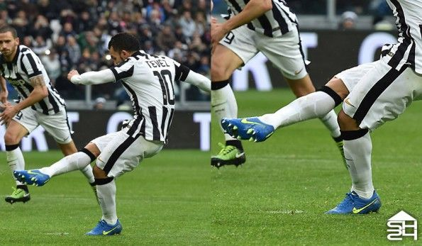 Carlos Tevez (Juventus) - Nike Tiempo Legend V #highlight