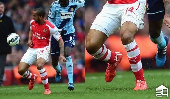 Walcott (Arsenal) - adidas F50 adizero #therewillbehaters