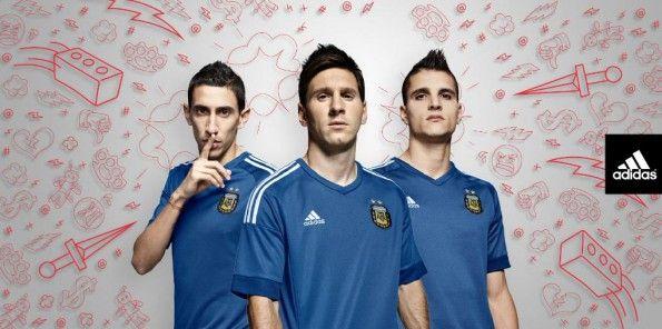 Argentina divisa away 2015-16 adidas