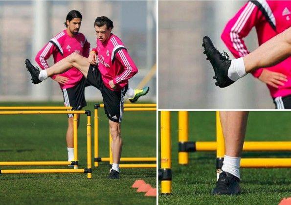 Dettaglio scarpe adidas Bale nere