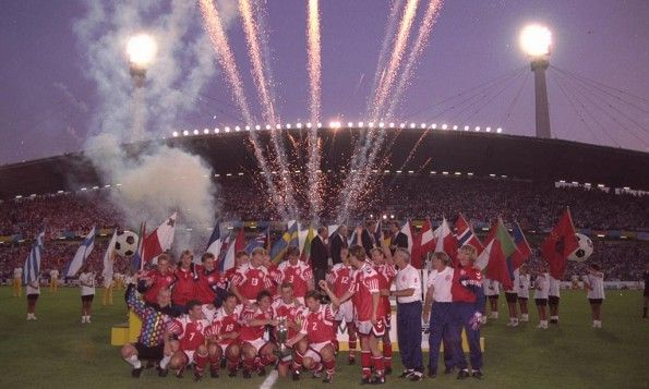 Festa Danimarca Europei 1992