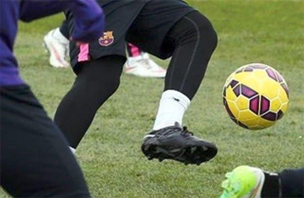 Dettaglio scarpe prototipo Leo Messi