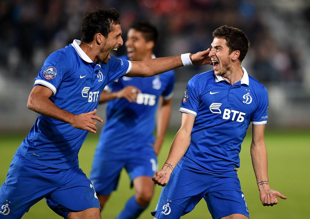 Kit home Dinamo Mosca 2014-15