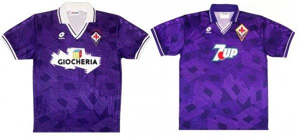 Maglie Fiorentina 1991-1993