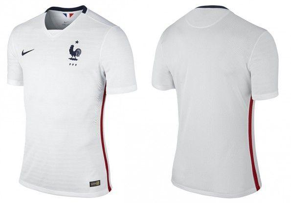 Seconda maglia Francia 2015-2016