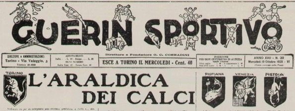 Guerin Sportivo del 10 ottobre 1928