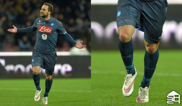 Gonzalo Higuain (Napoli) Nike Hypervenom Phantom White Pack