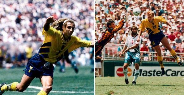 Larsson e Andersson ai Mondiali 1994