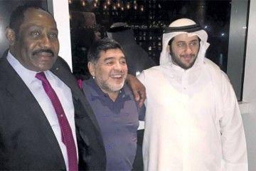 Maradona, Burrell, Al Rumaithy