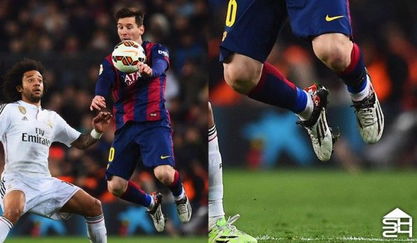 """Leo Messi (Barcellona) - adidas F50 adizero """"Pibe de Barr10"""""""