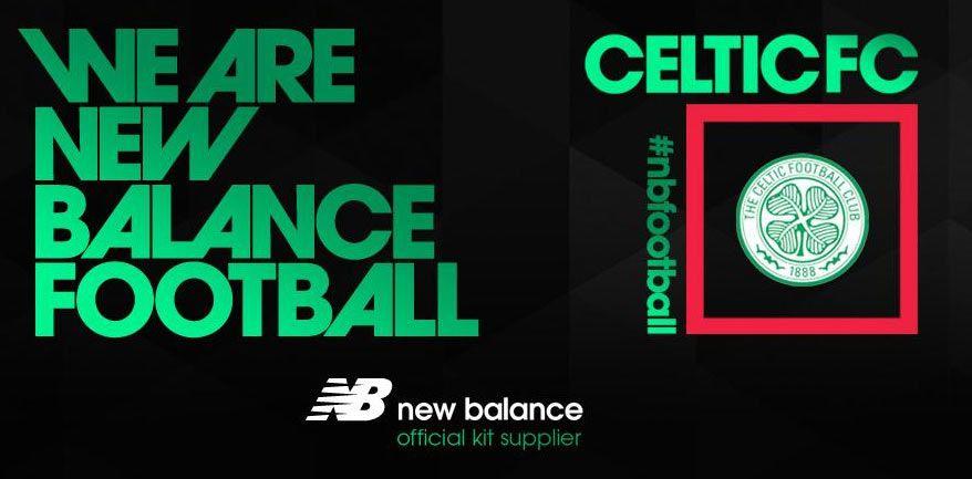 New Balance sponsor tecnico Celtic