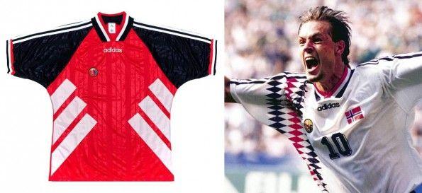 Norvegia maglie mondiali 1994