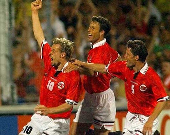 Norvegia-Brasile 1998 Rekdal