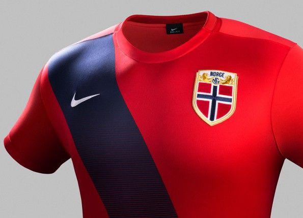 Maglia Norvegia 2015-2016 home