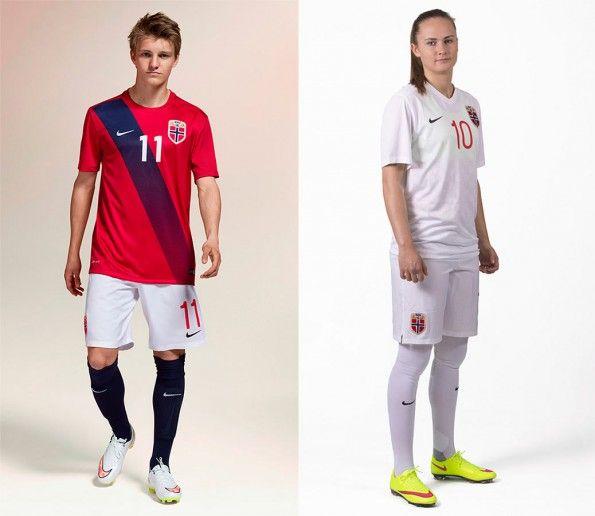 Kit Norvegia 2015-2016 Nike