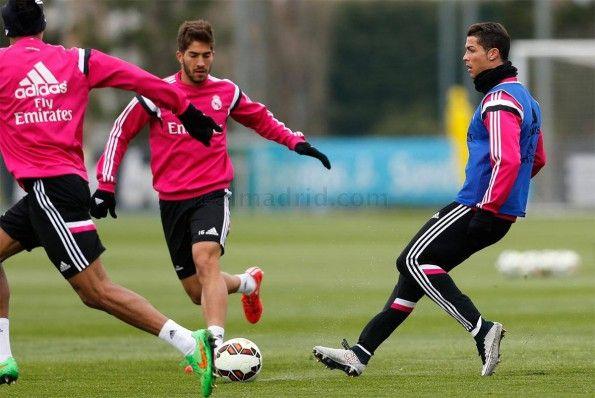 Allenamento Cristiano Ronaldo con scarpini Silverware