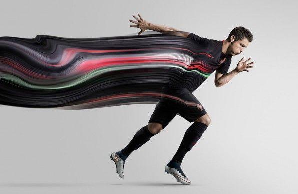 Cristiano Ronaldo maglia trasferta Portogallo 2015-16