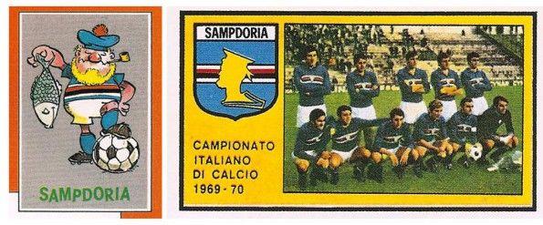 Il Baciccia, la mascotte della Sampdoria