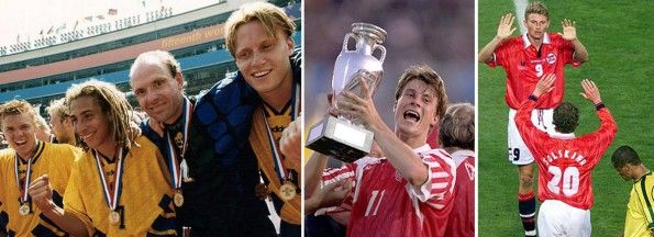 Svezia, Danimarca, Norvegia calcio