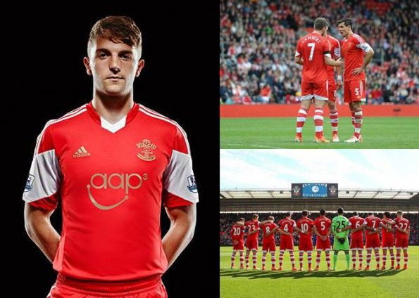 Southampton Maglia Adidas Total Red 2013-14