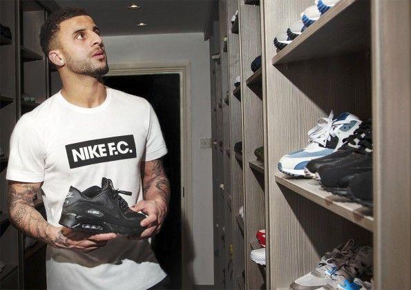 Kyle Walker collezione scarpe Air Nike