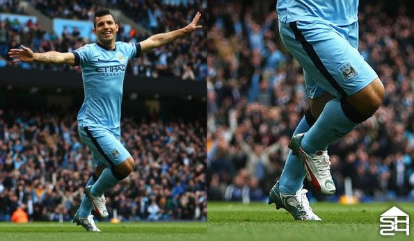 Sergio Aguero (Man City) - Puma evoSpeed Dragon