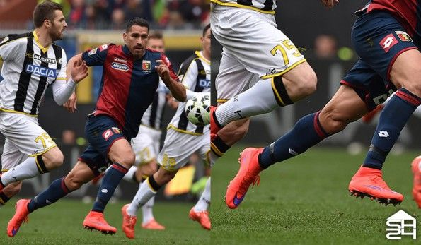Marco Borriello (Genoa) - Nike Mercurial Superfly IV #intenseheat