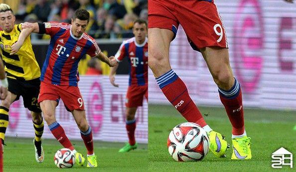Robert Lewandoski (Bayern Monaco) - Nike Hypervenom Phantom #intenseheat