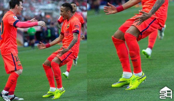 Neymar jr (Barcellona) - Nike Hypervenom Phantom #intenseheat